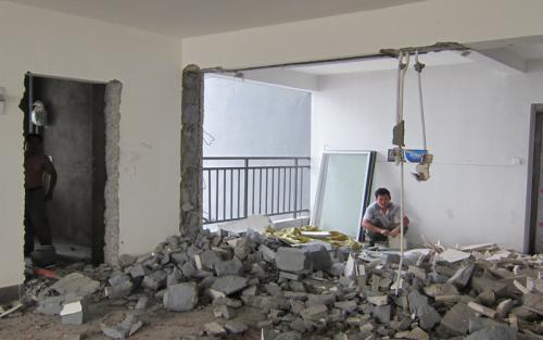 厂区墙体切割/拆除